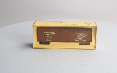 American Models 103-A S Scale Cotton Belt Boxcar Kit