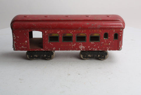 Ives 184 Standard Gauge Club Car