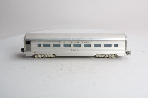 AMT 3160 New York Central Aluminum Smooth Roof Passenger Car
