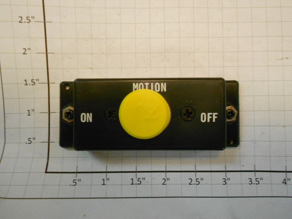 K-Line K-1M Yellow Motion Control Button