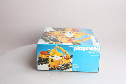 PlayMobil 4053 G Scale Work Train Set
