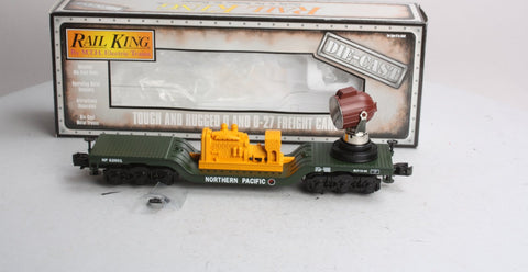 MTH 30-8306 Northern Pacific Die-Cast Searchlight Car LN/Box