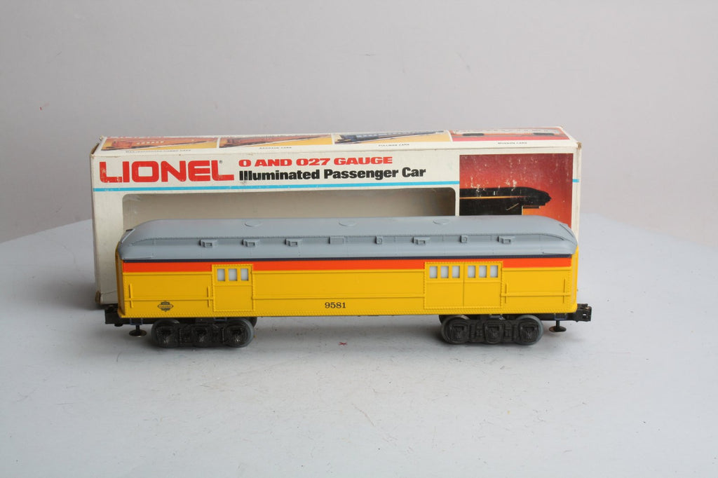 Lionel 6-9581 Chessie Steam Special Baggage Car LN/Box