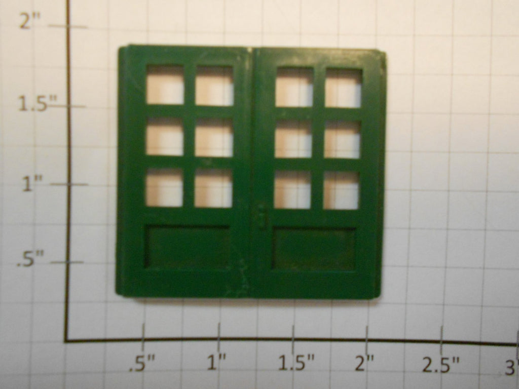 Lionel 100-107 set of 3 Green Doors