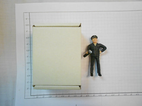 Taura Figures 13.32 White Metal Rialwaymen With Flashlight Figure