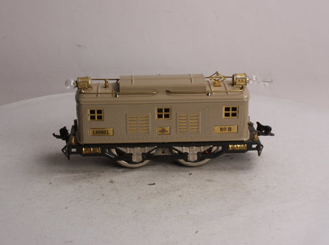 Lionel 8 Standard Gauge Beige 0-4-0 Powered Electric Locomotive