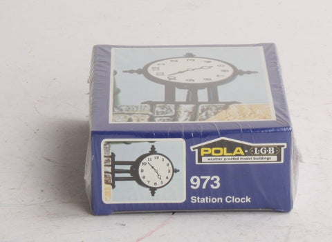 Pola 330973 Station clock-lighted