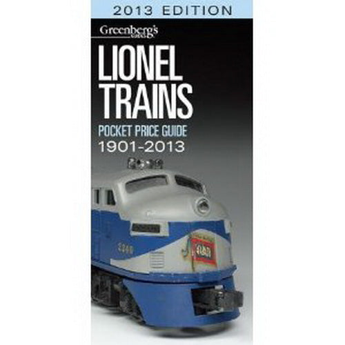Kalmbach 108713 Greenberg's Lionel Trains Pocket 2013 Price Guide