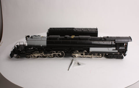 "Williams 4020 2-Rail Brass 4-8-8-4 Union Pacific ""Big Boy"" Steam Engine & Tender"