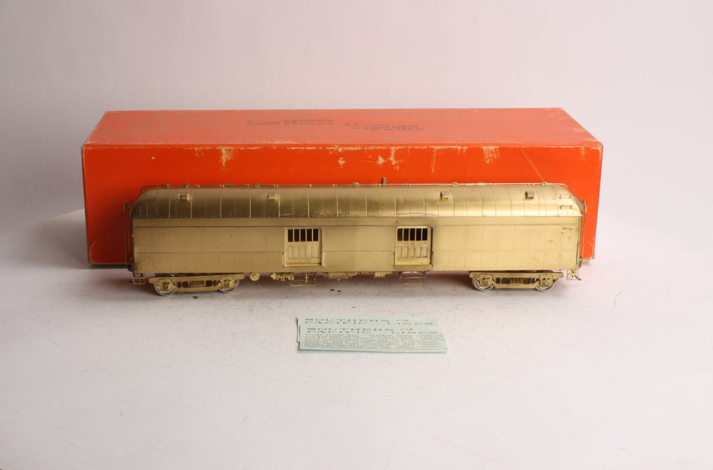 Precision Scale Company 15521 O Scale 2-Rail Brass Hariman 60' DD Baggage Car