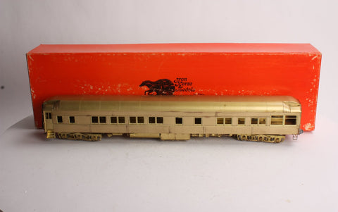 Precision Scale Company 15485-1 O Scale 2-Rail Heavy Weight Closed End Solarium Car