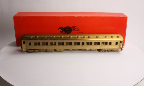Precision Scale Company 15589 O Scale 2-Rail Heavyweight Sleeper 6-3 Plan 3523F