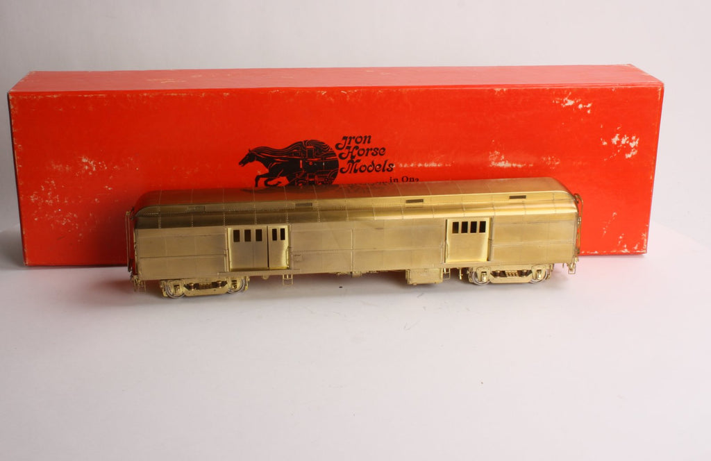 Precision Scale Company 15629 O Scale 2-Rail Brass Heavyweight Double Door Baggage Car