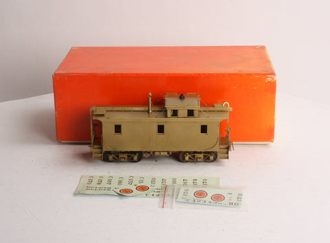 Precision Scale Company 16131-1 O Scale 2-Rail Brass DM&IR Wood Caboose