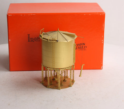 Precision Scale Company 16562 HO Scale Brass Harriman 65,000 GAL Steel Water Tank