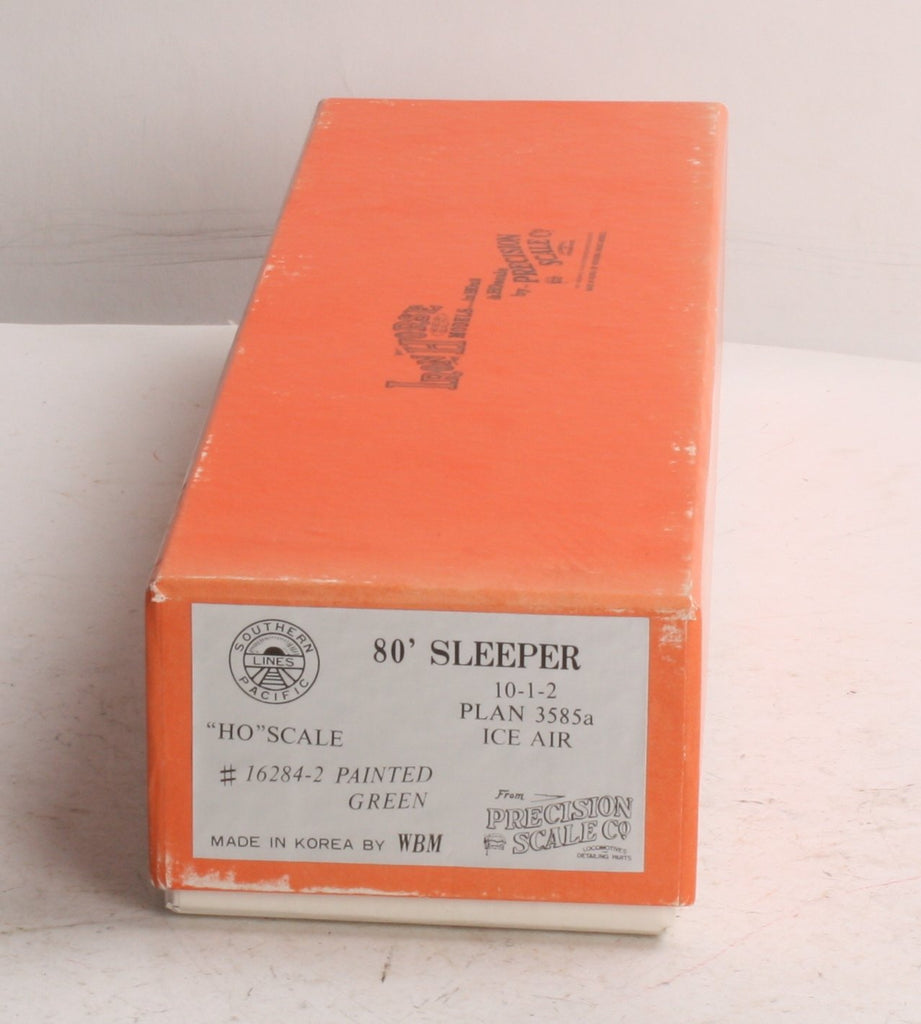 Precision Scale Company 16284-2 HO Brass SP 80' Sleeper 10-1-2