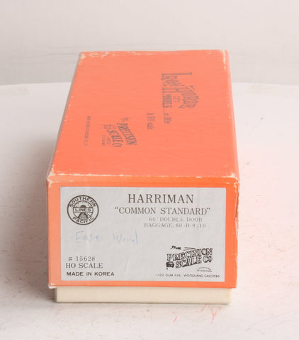 Precision Scale Company 15628 HO Brass SP Harriman DD Baggage Class 60-B-9/10