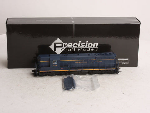 Precision Craft Models 205 B&O EMD SD-7 Diesel #764 w/DCC/Sound