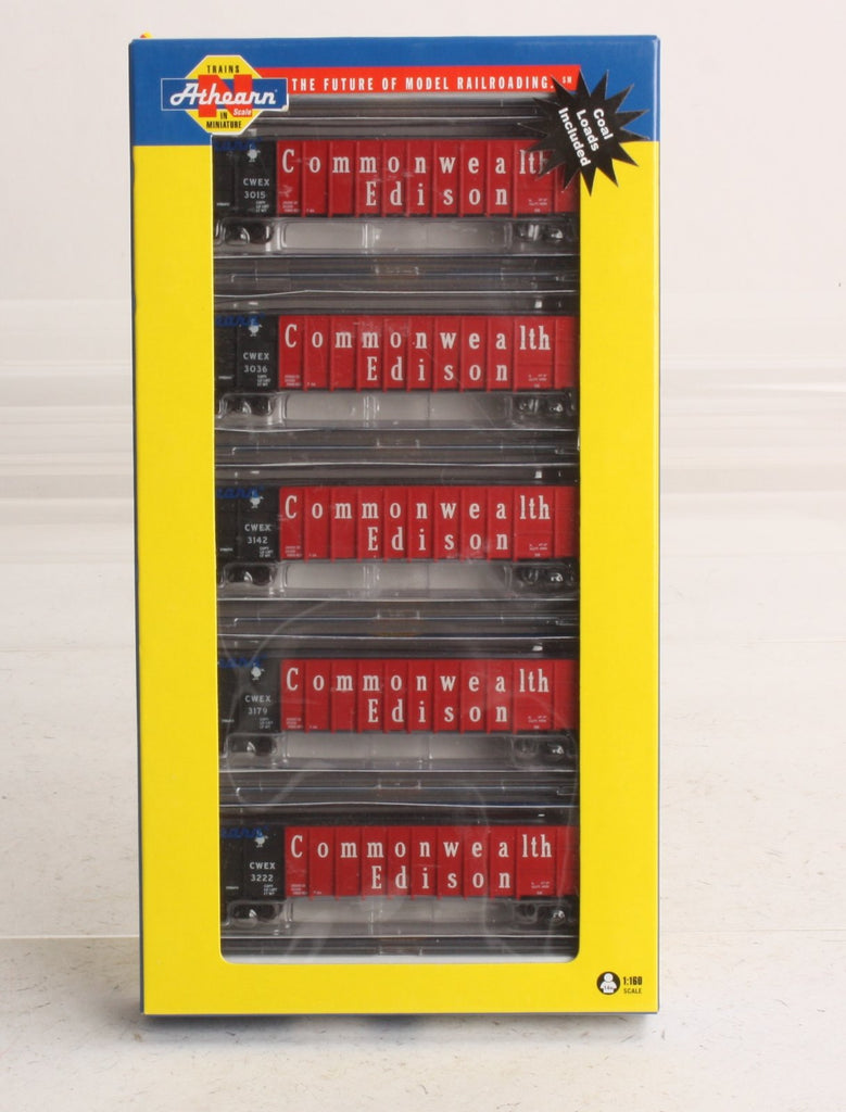 Athearn 11766 N Commonwealth Edison Thrall Gondola with Load #4 (5)