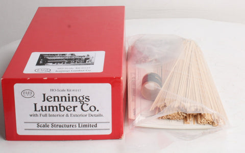 Scale Structures 1117 Jennings Lumber Co Buiklding Kit