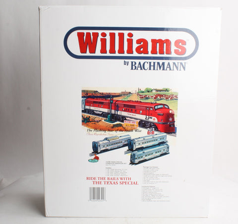 Williams 00301 O Texas Special F3 Diesel AB Passenger Train Set