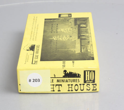 Fine Scale Miniatures 45 HO Scale Freight House Kit
