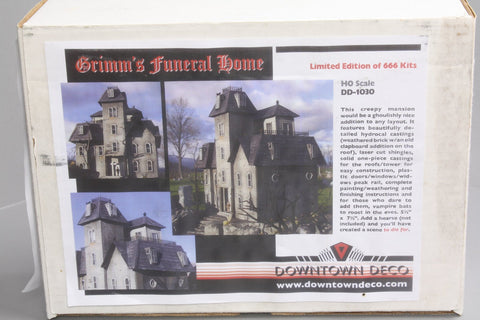 Downtown Deco 1030 Grimm's Funeral Home Kit