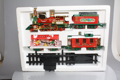 New Bright 183 Musical Christmas Express Train Set
