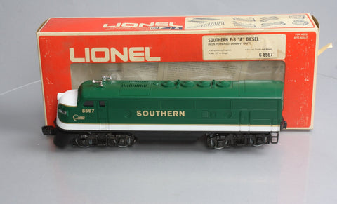 Lionel 6-8567 Southern F3 A Non-Powered Diesel Locomotive EX/Box