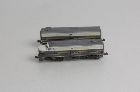 Life Like 7431 N Baltimore & Ohio FA1/FB1 Diesel Locomotive Set