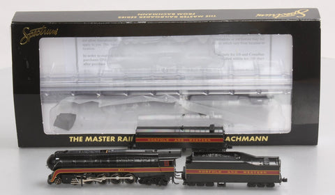 Bachmann 82154 N&W Class J 4-8-4 Steam Locomotive & Aux. Tender #611--Railfan