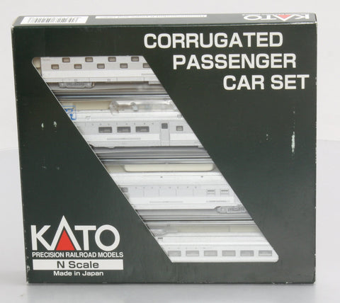 Kato 106-1505 N Scale Southern Corrugated 4-car Pass Set (Set A)