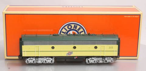 Lionel 6-38763 O Chicago & North Western F-7 B Unit Non-Powered Diesel Loco #315