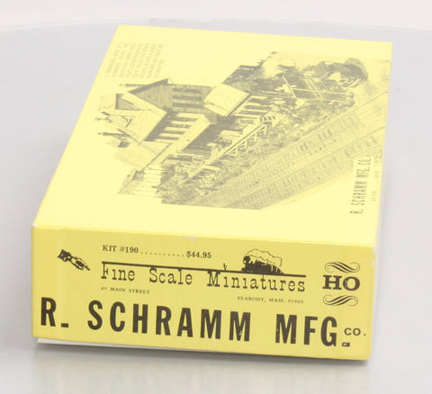 Fine Scale Miniatures 190 HO Scale R. Schramm Mfg. Craftsman Kit