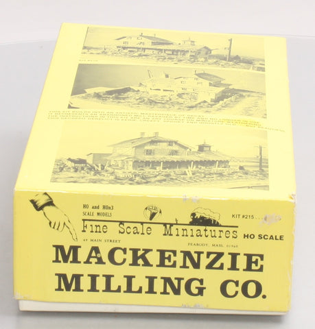 Fine Scale Miniatures 215 HO Scale Mackenzie Milling Co. Craftsman Kit