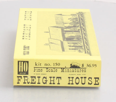 Fine Scale Miniatures 150 HO Scale Freight House Craftsman Kit