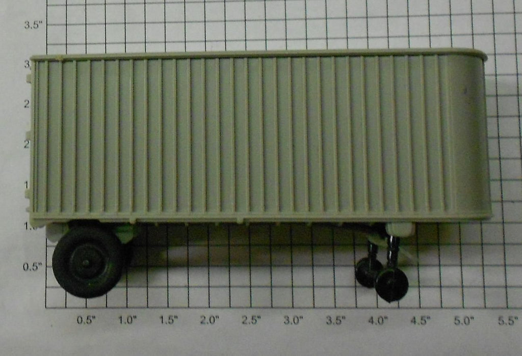Lionel 3460-100 Gray Trailer Van