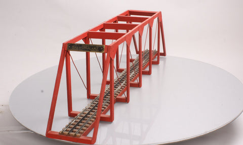 American Flyer 211 Standard/O Gauge Prewar Wooden Salt Lake Trestle Bridge