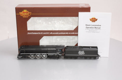 Broadway Limited 1625 HO New Haven Class I-5 4-6-4 Hudson Brass Hybrid #1407