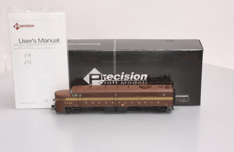 Precision Craft Models 348 Pennsylvania Alco PA1 5-Stripe Tuscan with Antenna/Sound/DC/DCC #5756A