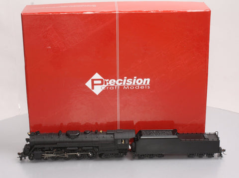 Precision Craft Models 592 HO Reading T1,4-8-4, Unlettered w/Sound