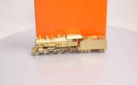 Precision Scale Company S Scale Brass 4-6-0 Steam Locomotive & Tender