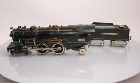 American Flyer 4681 Standard Gauge 4-4-2 Atlantic Type Steam Engine w/ Operating Bell (Repainted)