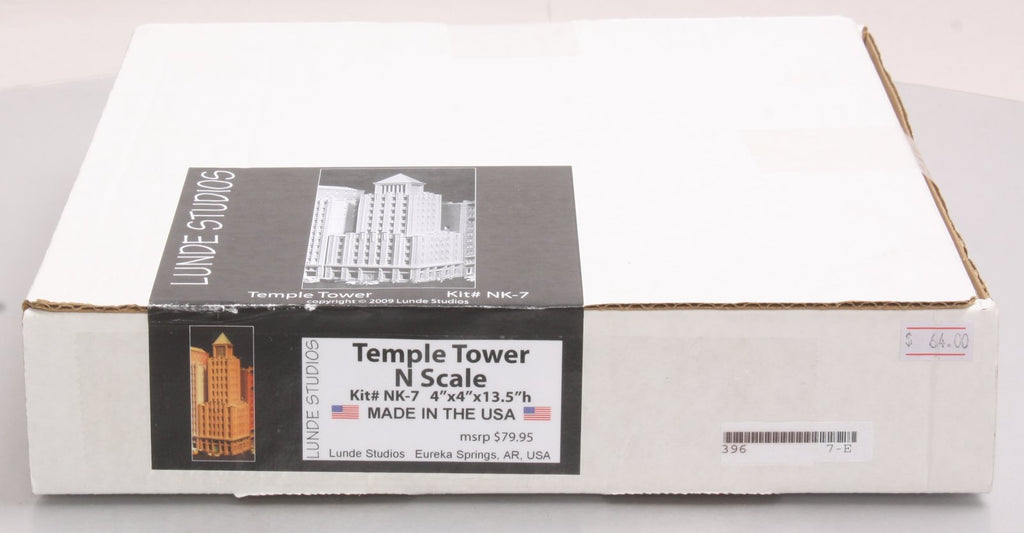 Lunde Studios NK-7 N Temple Tower Building Kit