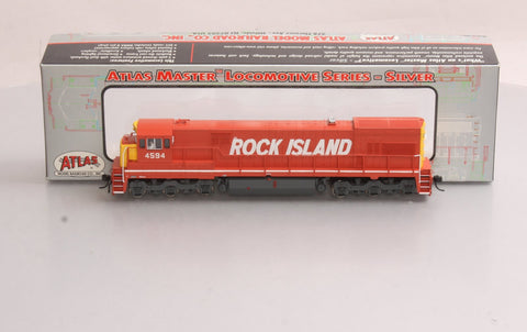Atlas 7320 Rock Island GE U30C Diesel Locomotive #4594