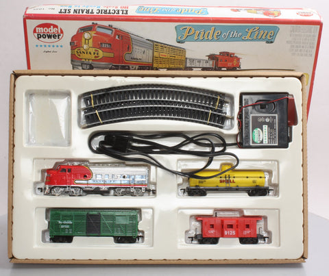 Model Power 1035 Pride of the Line Train Set