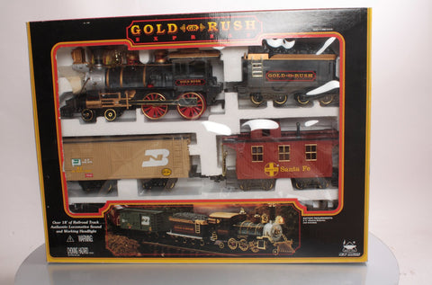 New Bright 186 Gold Rush Express Train Set