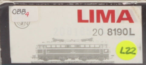 Lima 208190L HO Scale OBB Electric Locomotive