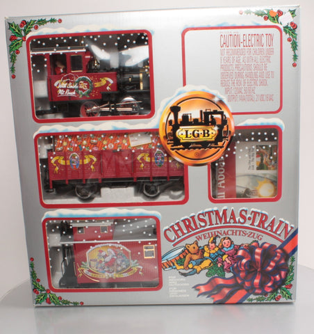 LGB 72554 G Scale Christmas Train Set