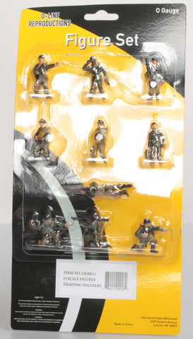 O-Line 812 Army Fighting Figure Set (10)